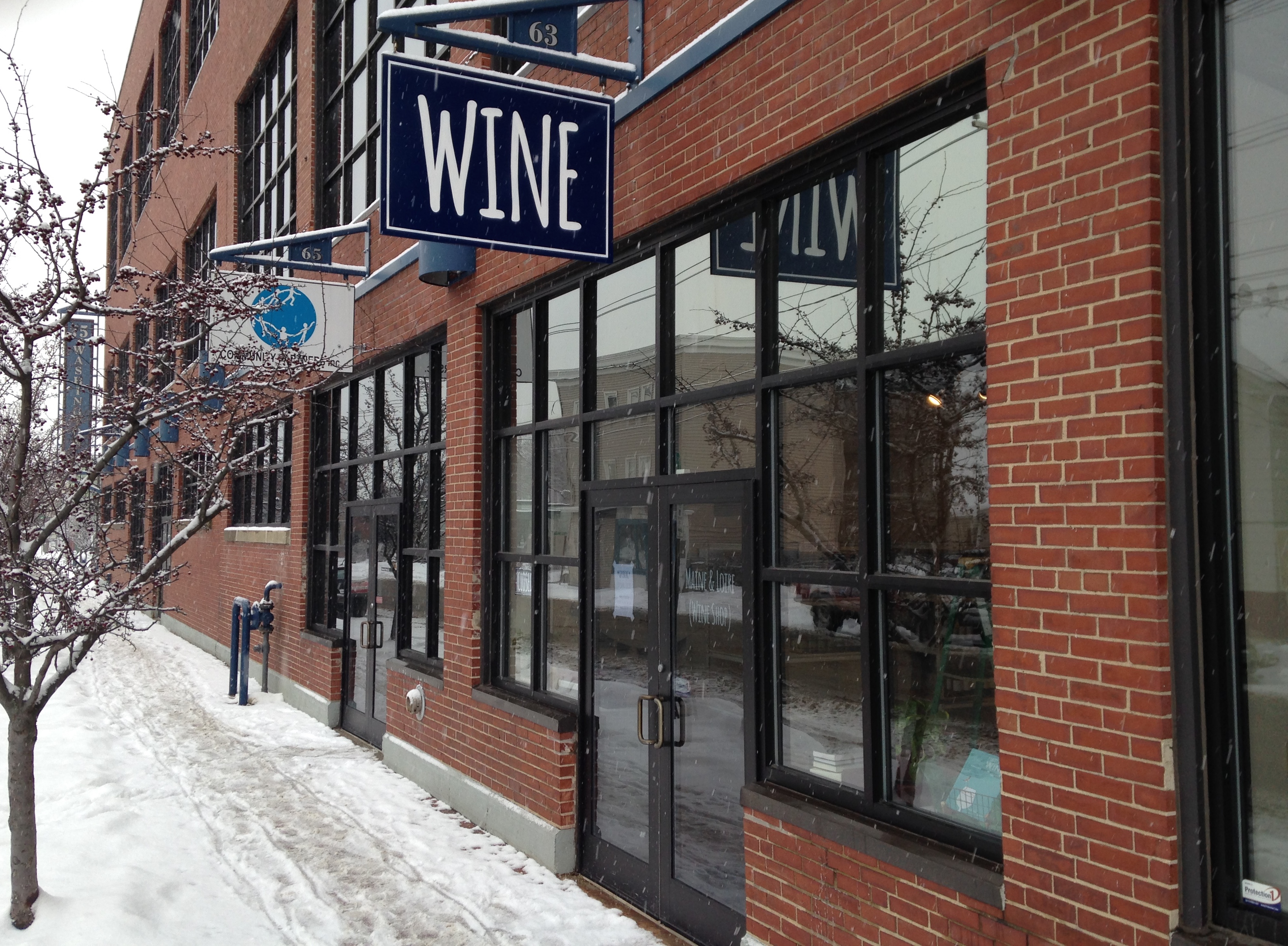 The historic Nissen Bakery building will house Roustabout restaurant.