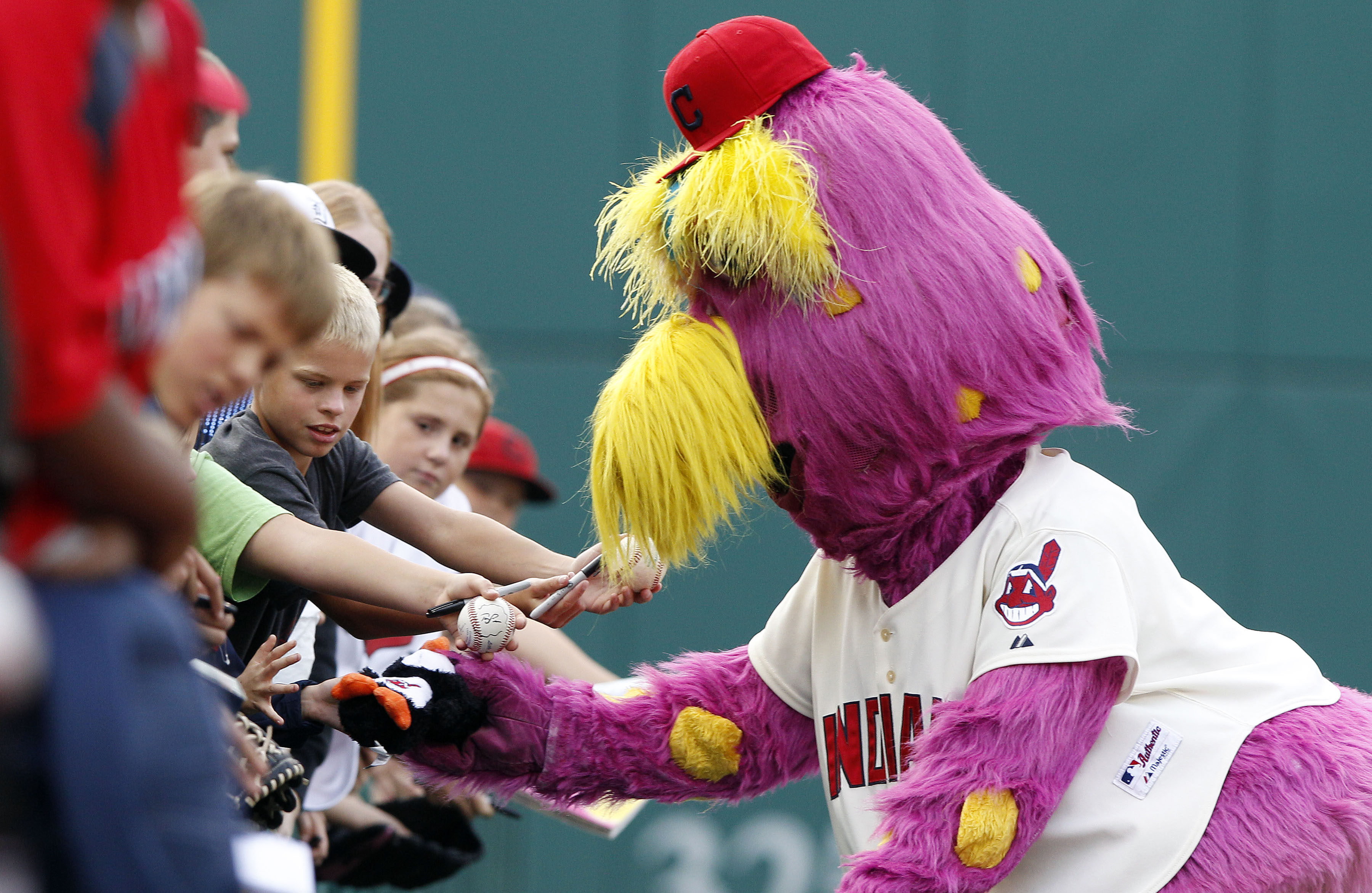 Slider looks like one of those STD muppets from Kneehigh Park