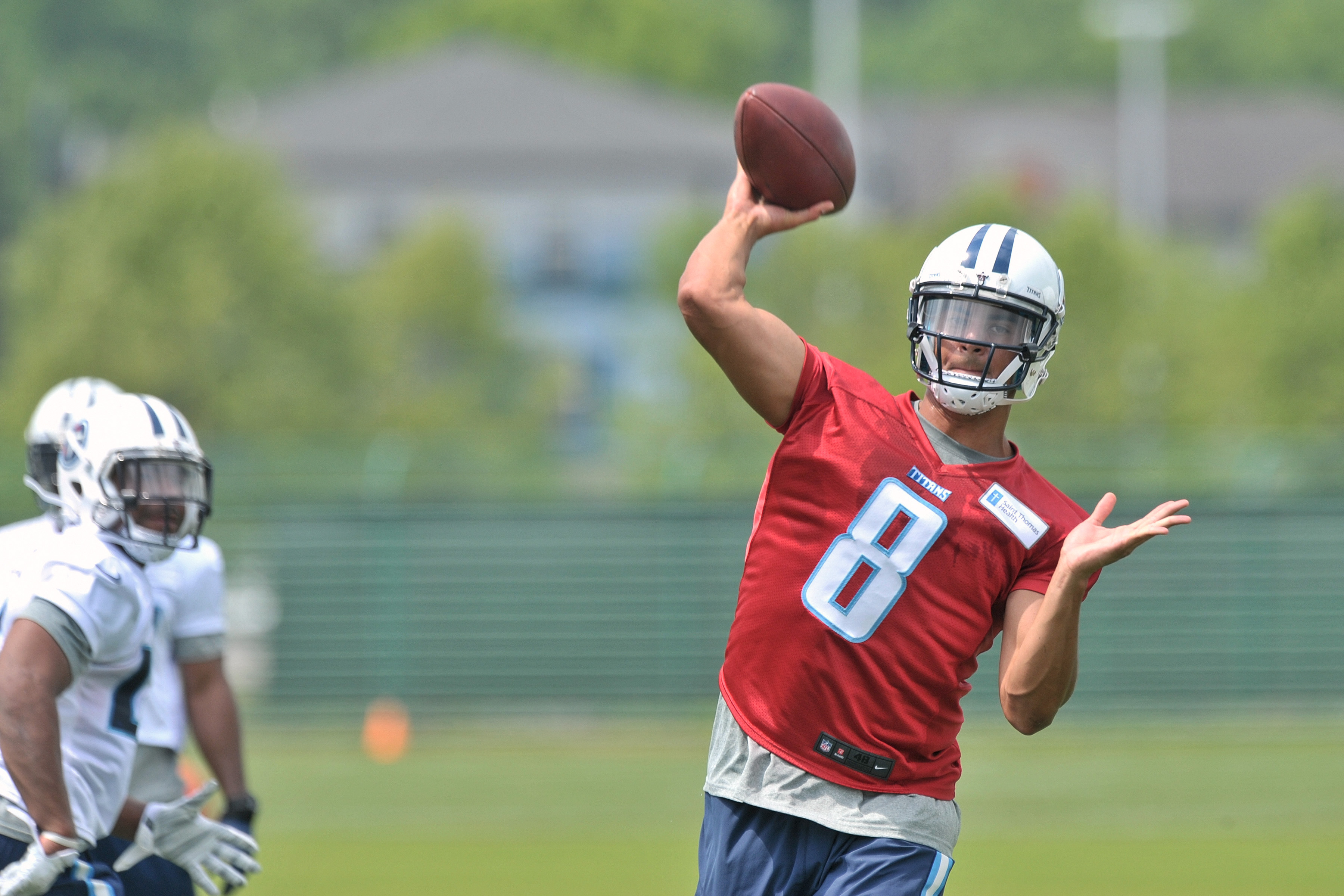 Titans get their first look at Marcus Mariota Friday