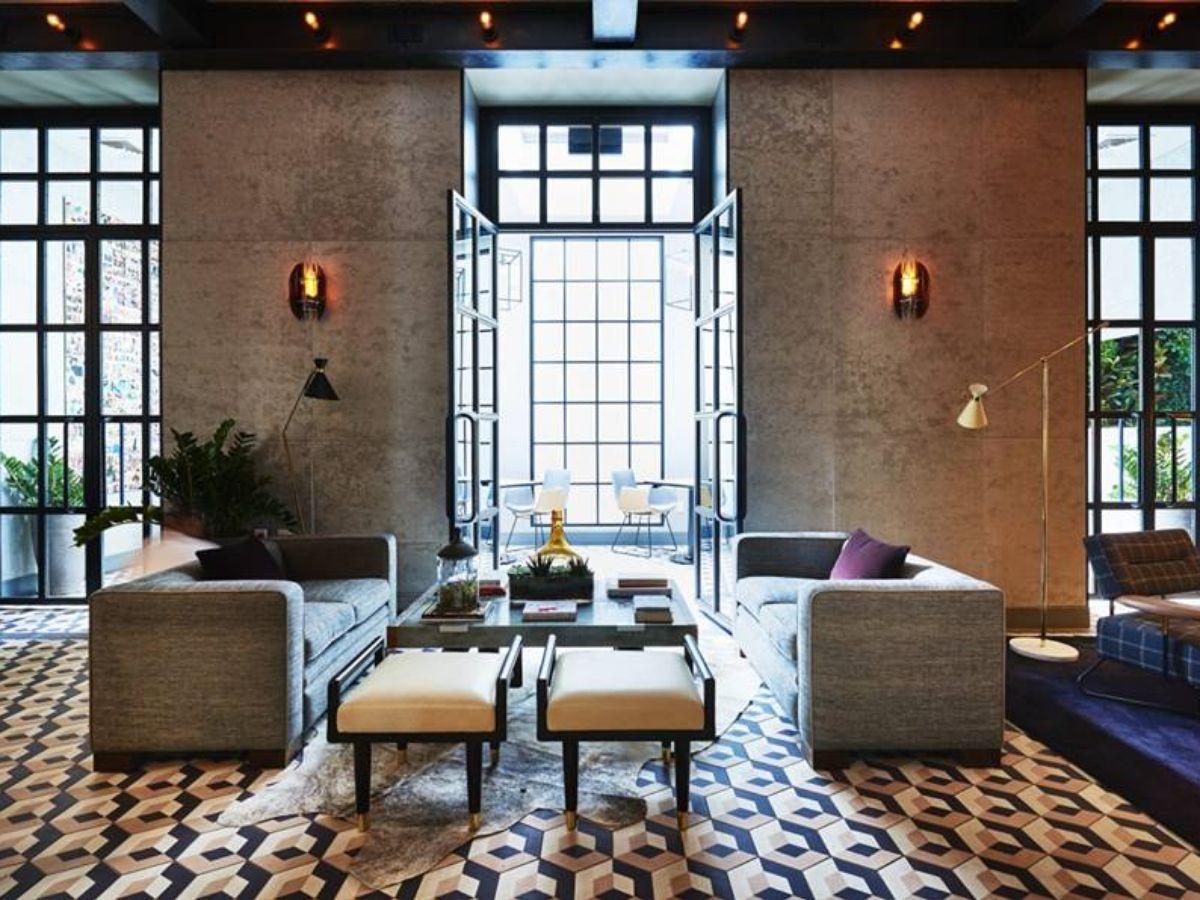 The Gordon Bar in the Sixty Soho hotel