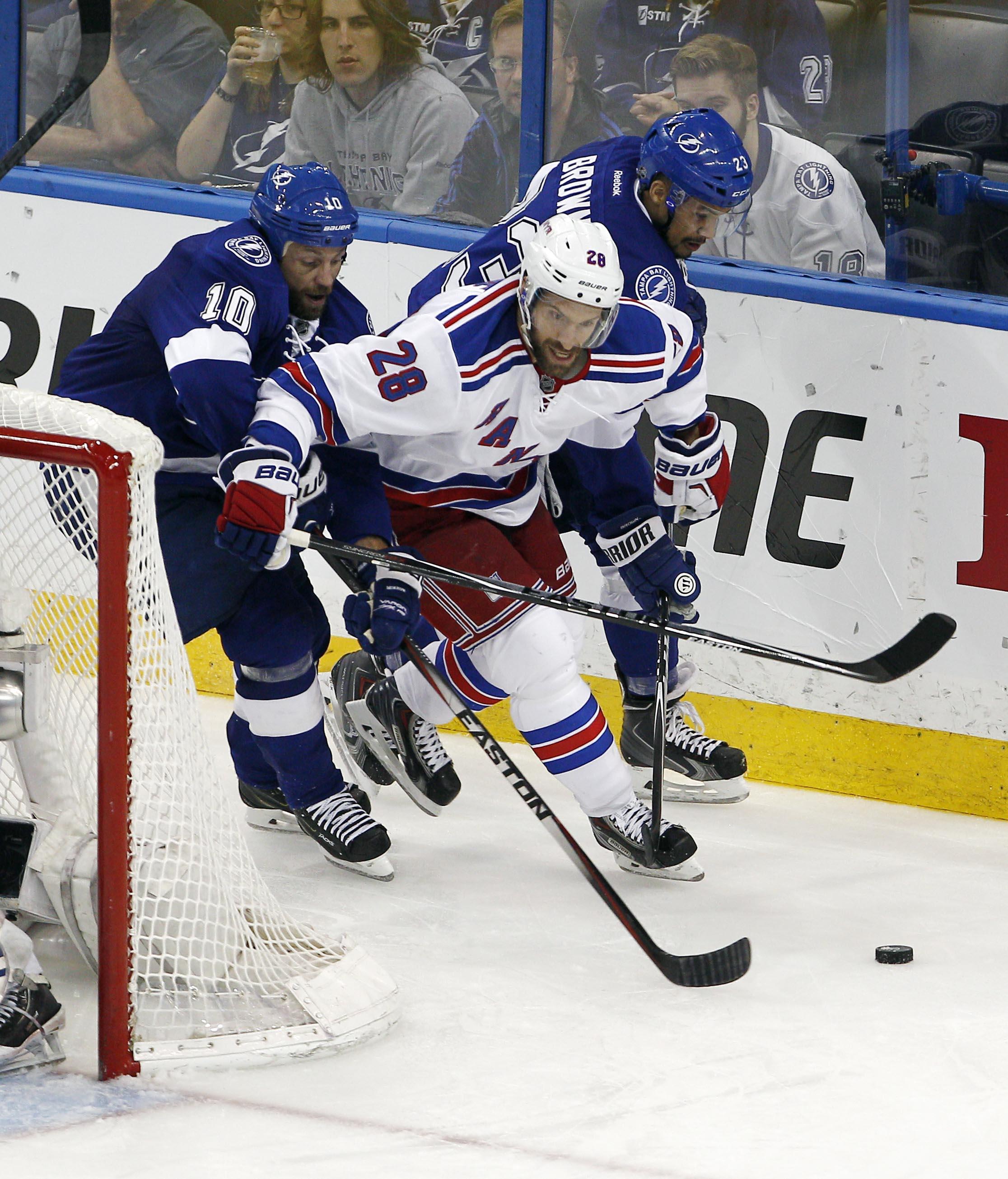 New York Rangers Pregame Rangers vs Lightning Game 5