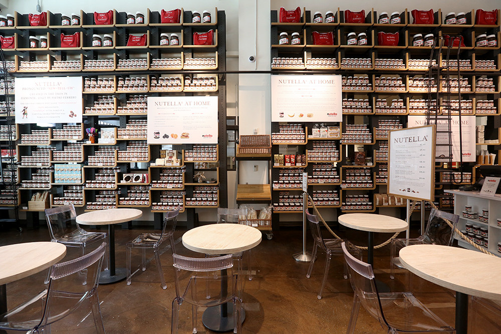 Eataly's old Nutella Bar.