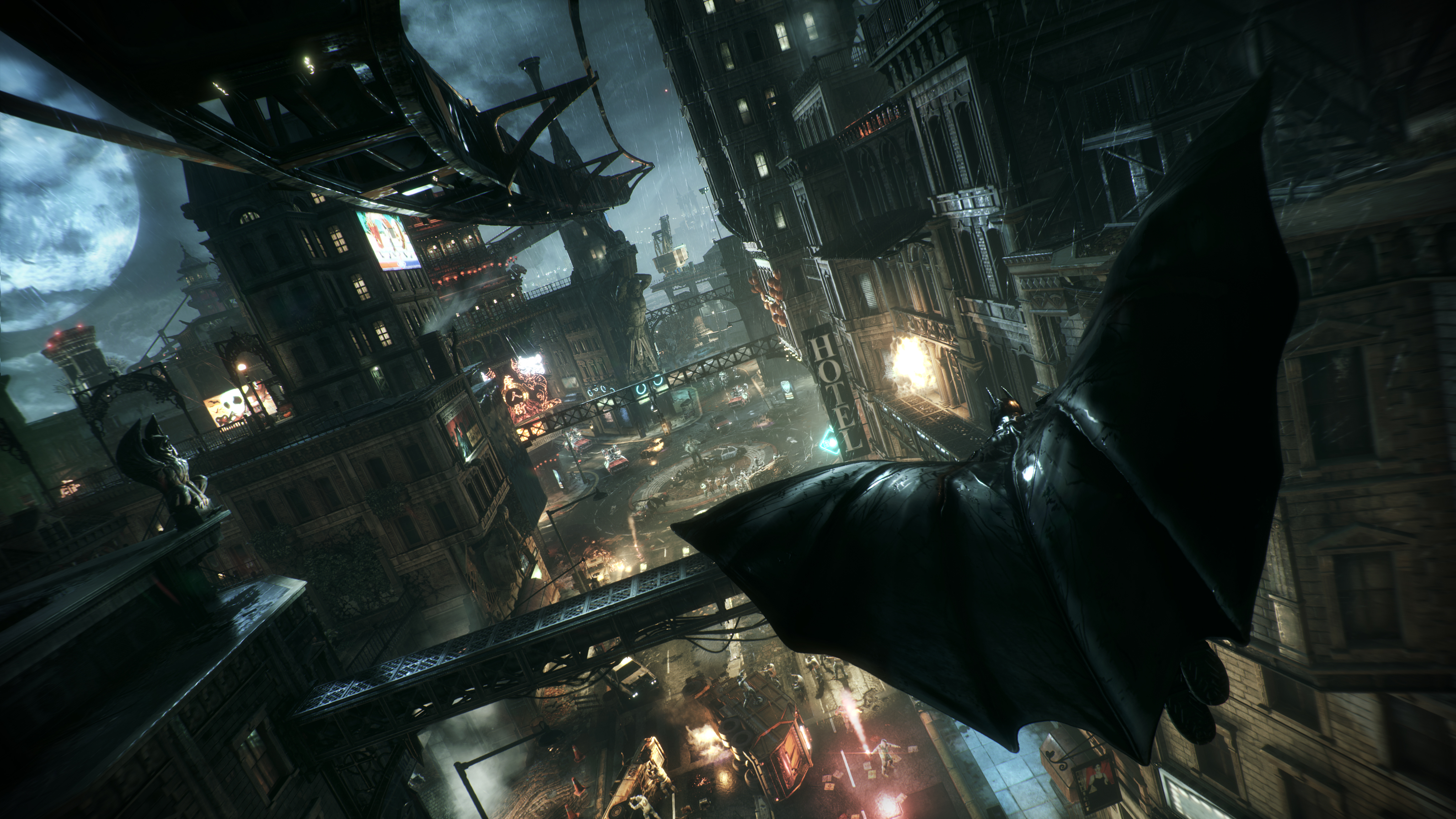 Batman: Arkham Knight is a sprawling, complicated buffet of gaming genres