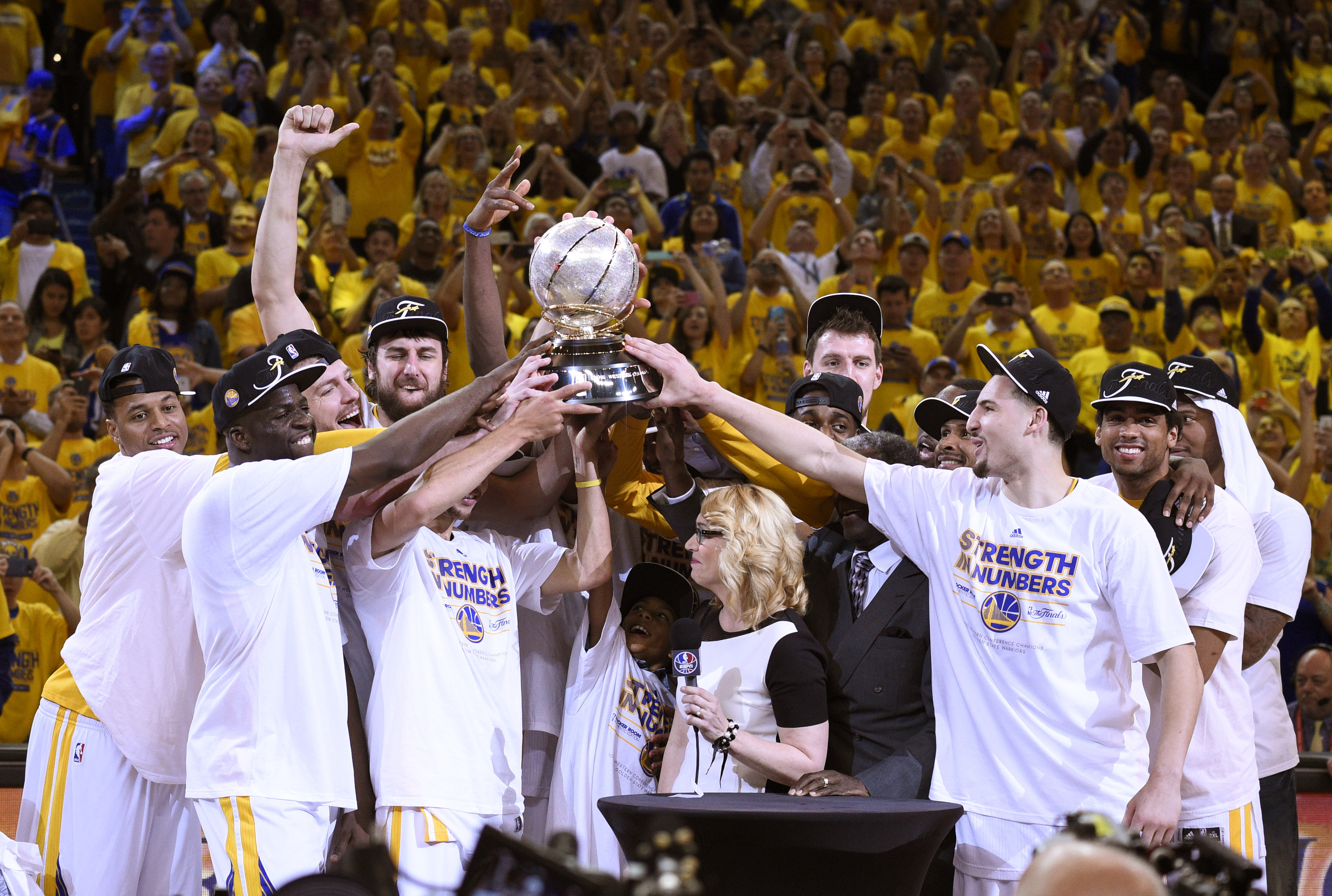 The 2015 Western Conference Champions