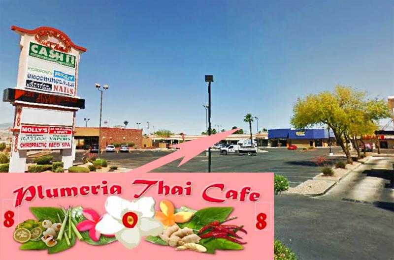 Thai Cafe San Francisco Menu