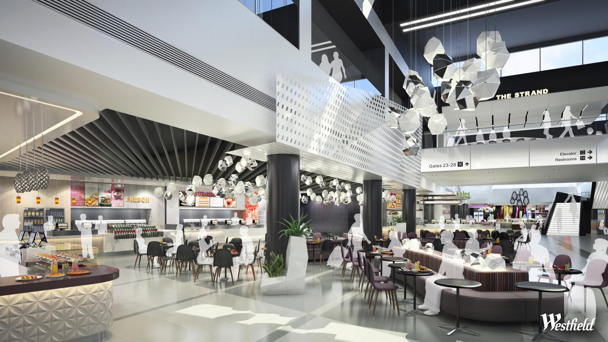 Terminal 2's upcoming dining terrace