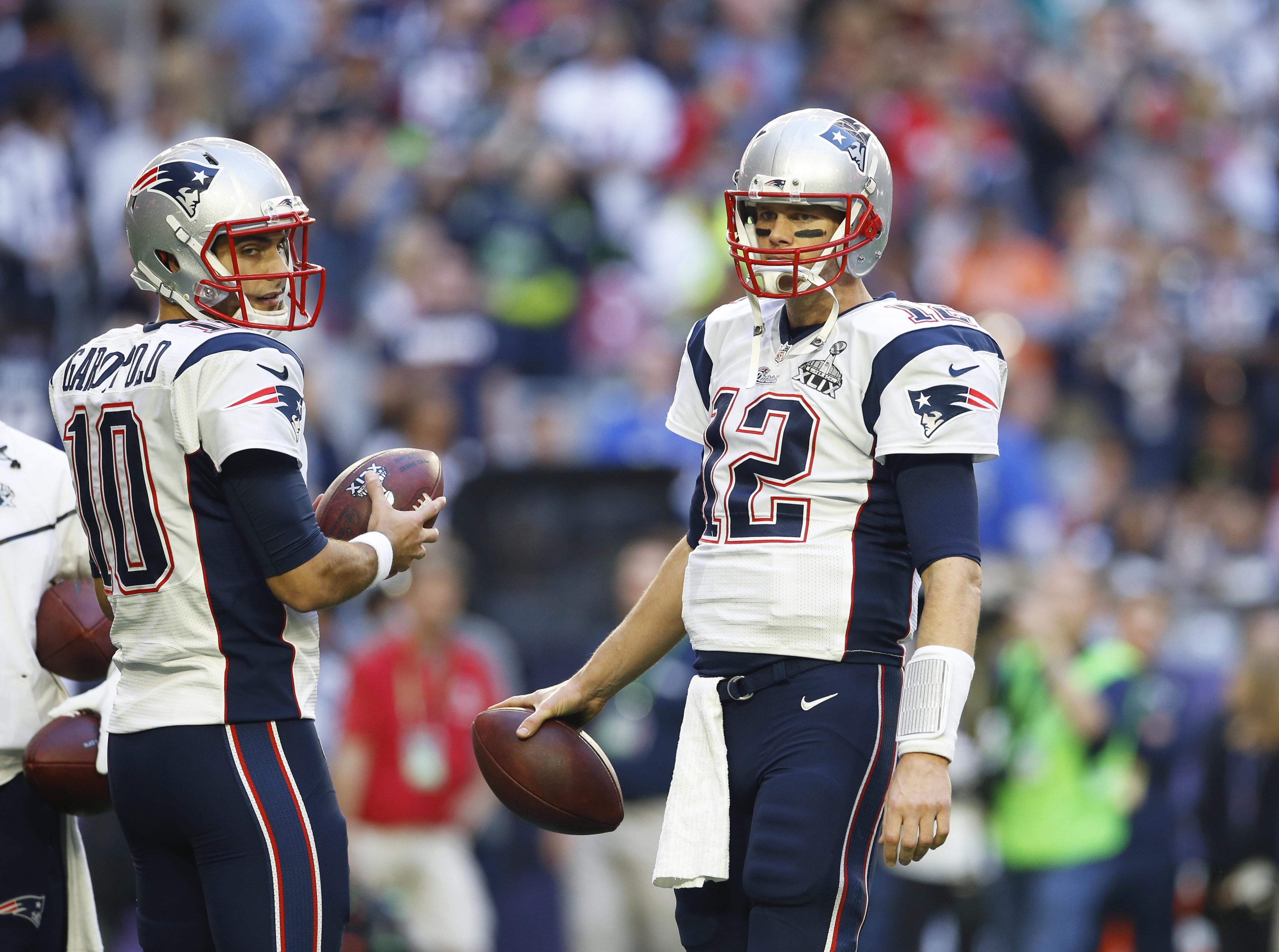 Watch your back, Brady.