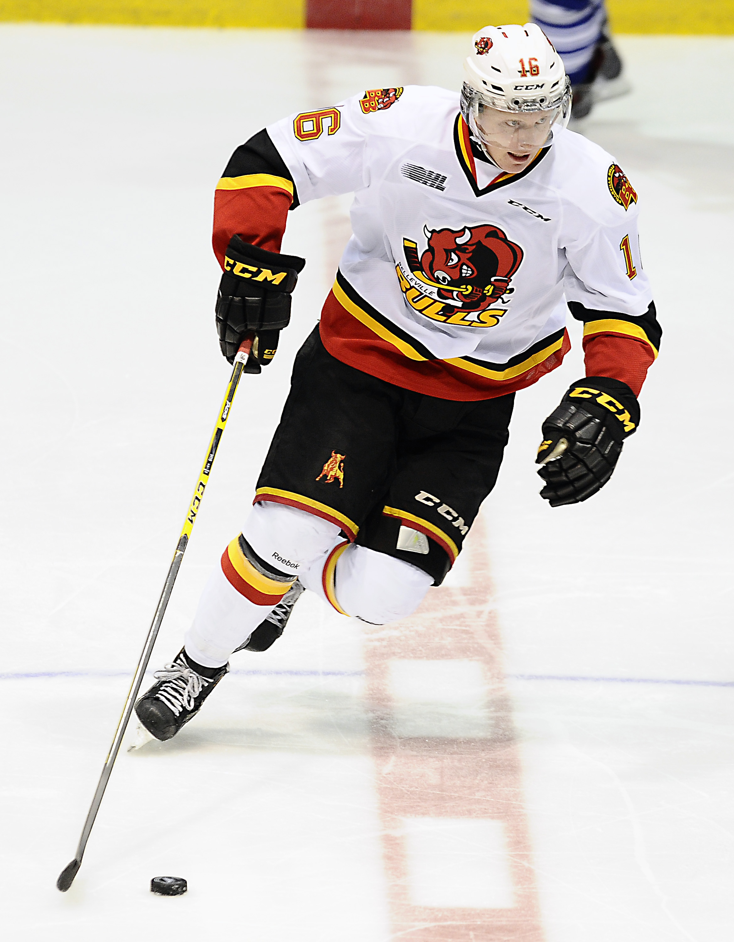 Trent Fox - From Erie to Belleville in 2014-15, but will he even be drafted?  We'll find out in June.