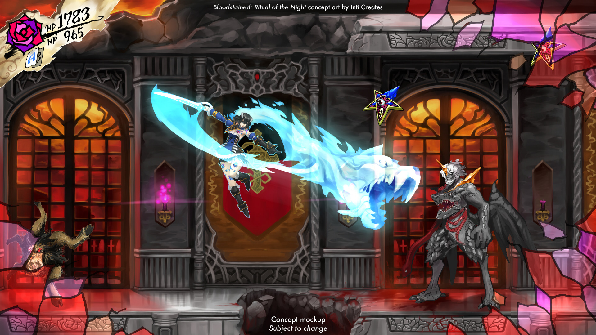 Bloodstained will come to Wii U as fundraiser sets sights on Vita