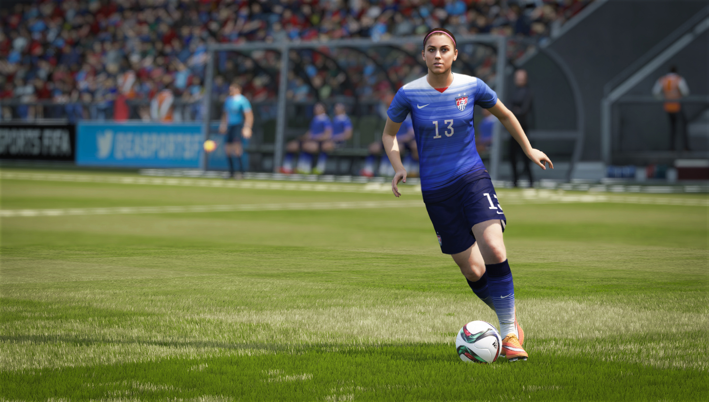 FIFA 16's women need more to do, but playing Man City isn't the answer
