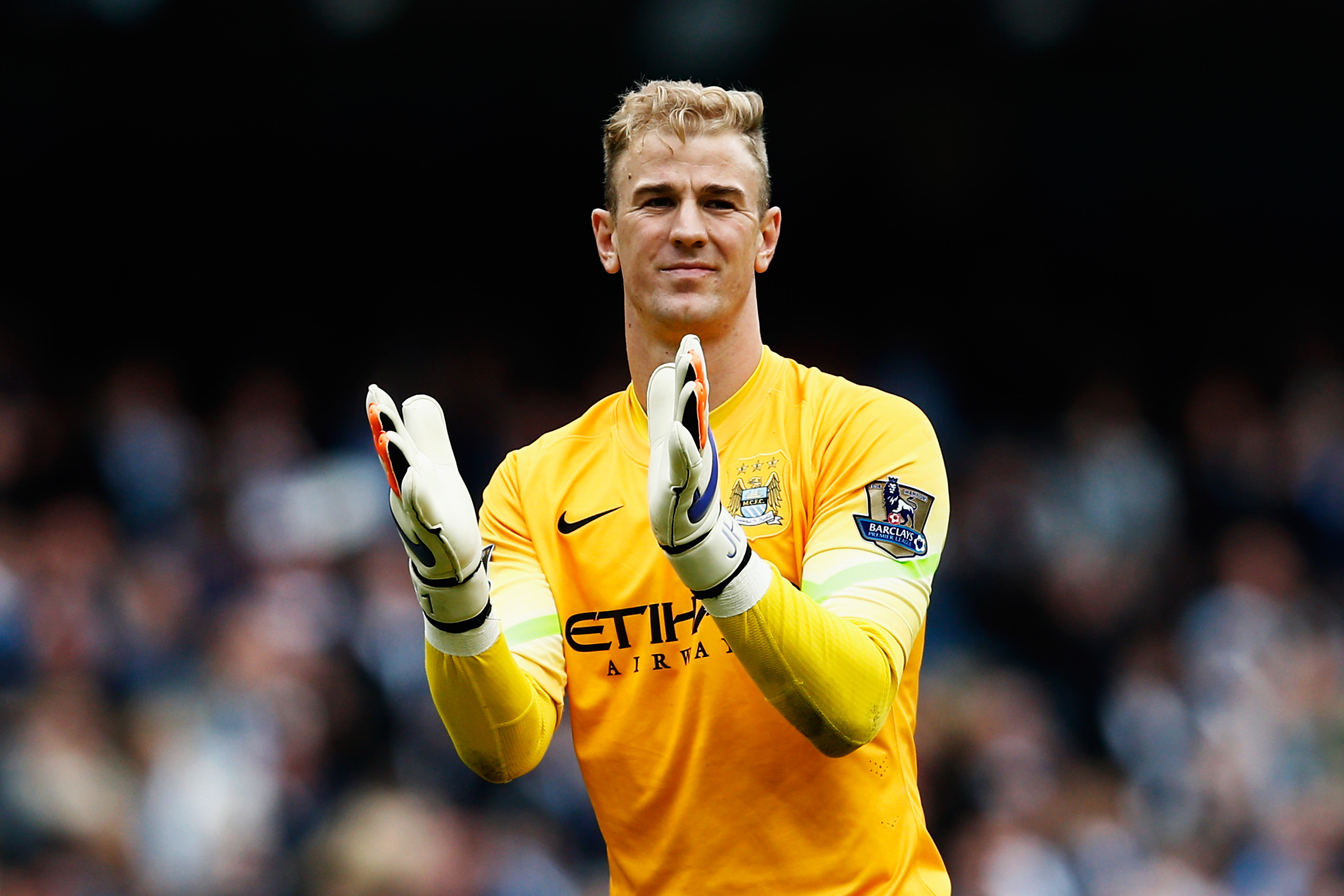 Joe Heart has been at the heart of Manchester City's squad this season.