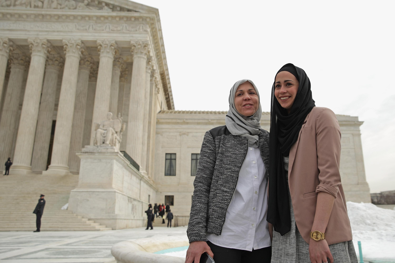 Samantha Elauf and her mother Majda Elauf