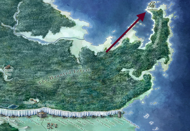 This map explains why last night's Game of Thrones was so terrifying
