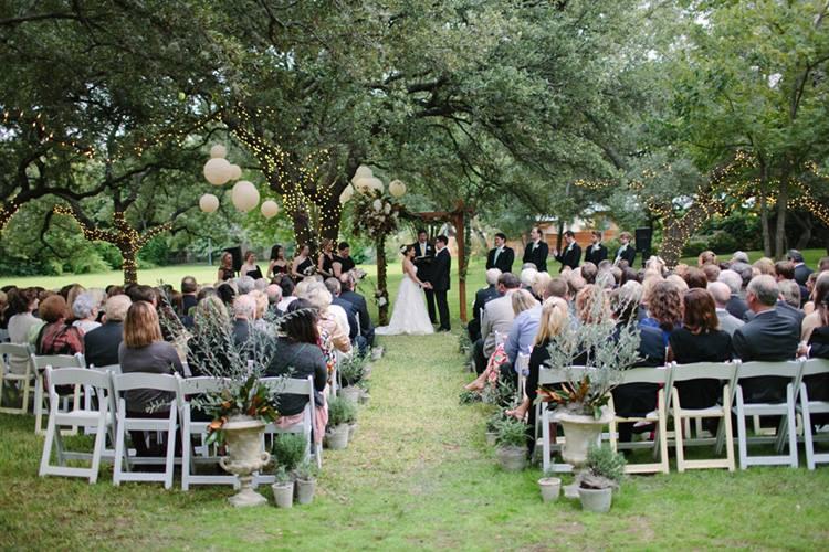 A wedding at Green Pastures