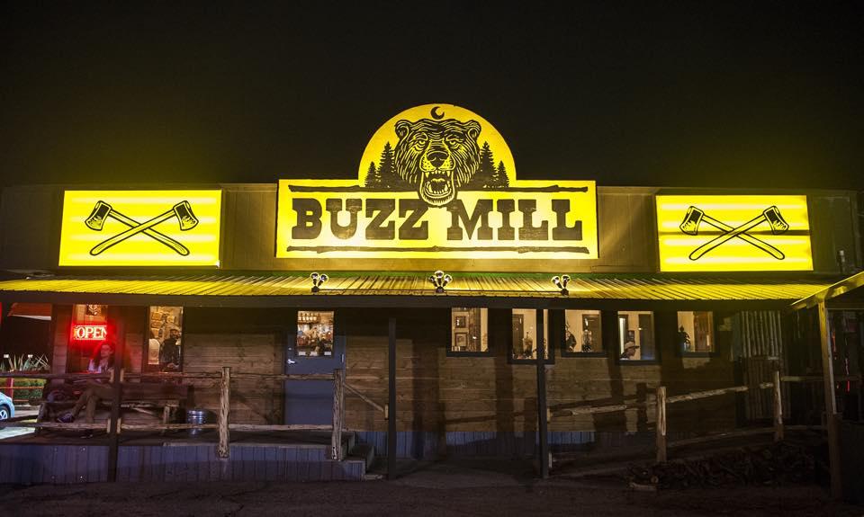 Buzz Mill Coffee's original location