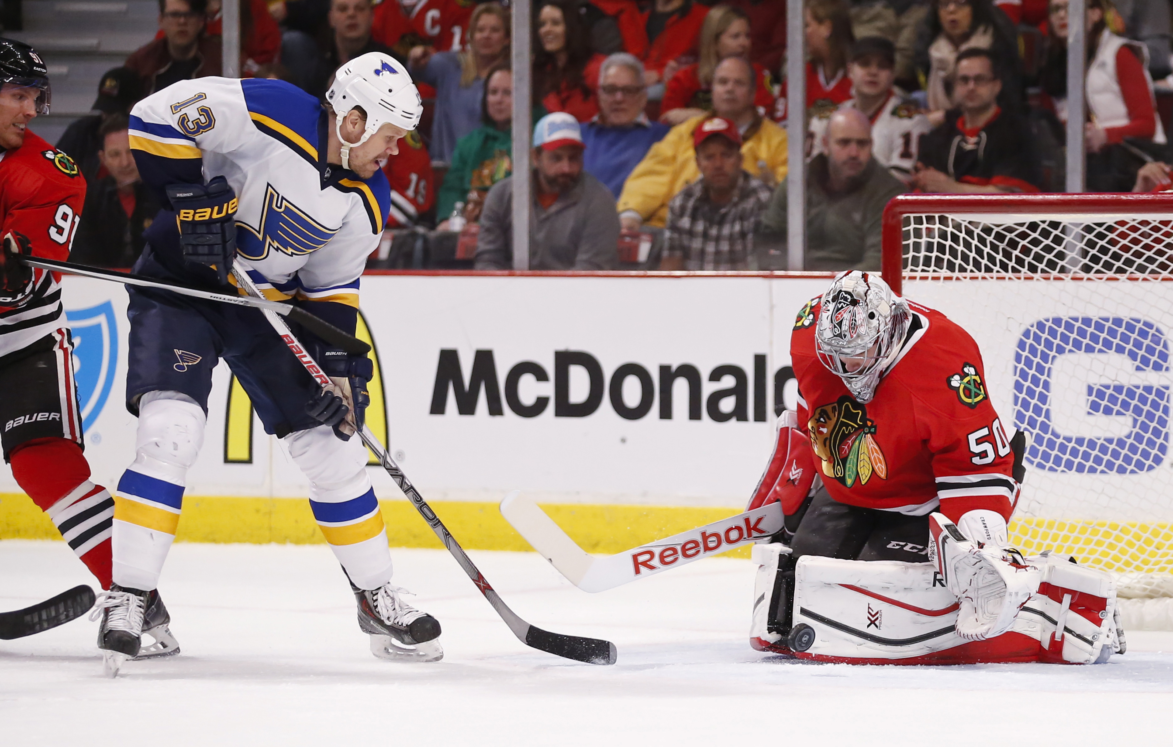 No. Seriously. The Blues should bring this guy back.