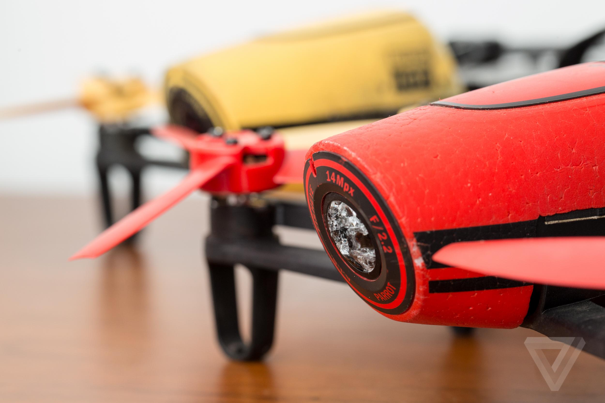 Parrot Bebop drone review: ambitious, unique, but dangerously