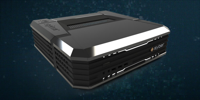 Syber's Steam Machines run from $499 to $1419, include standard graphics cards