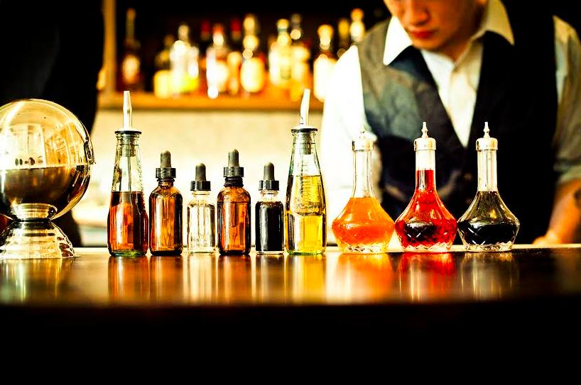 The bar at Locanda