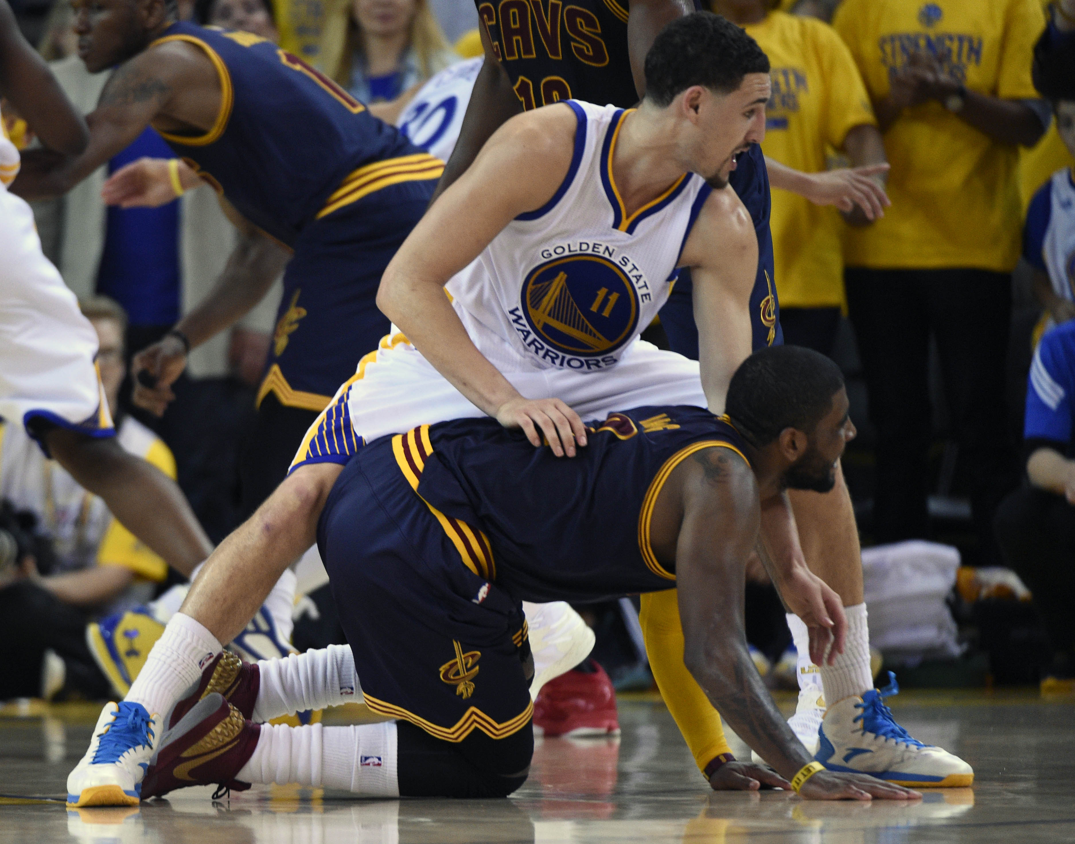 Kyrie Irving will miss the rest of the NBA Finals.