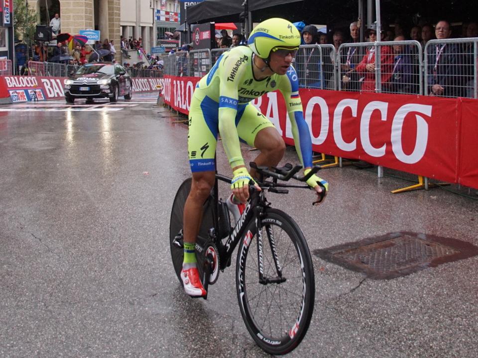 Kreuziger rode the Giro in support of Alberto Contador.