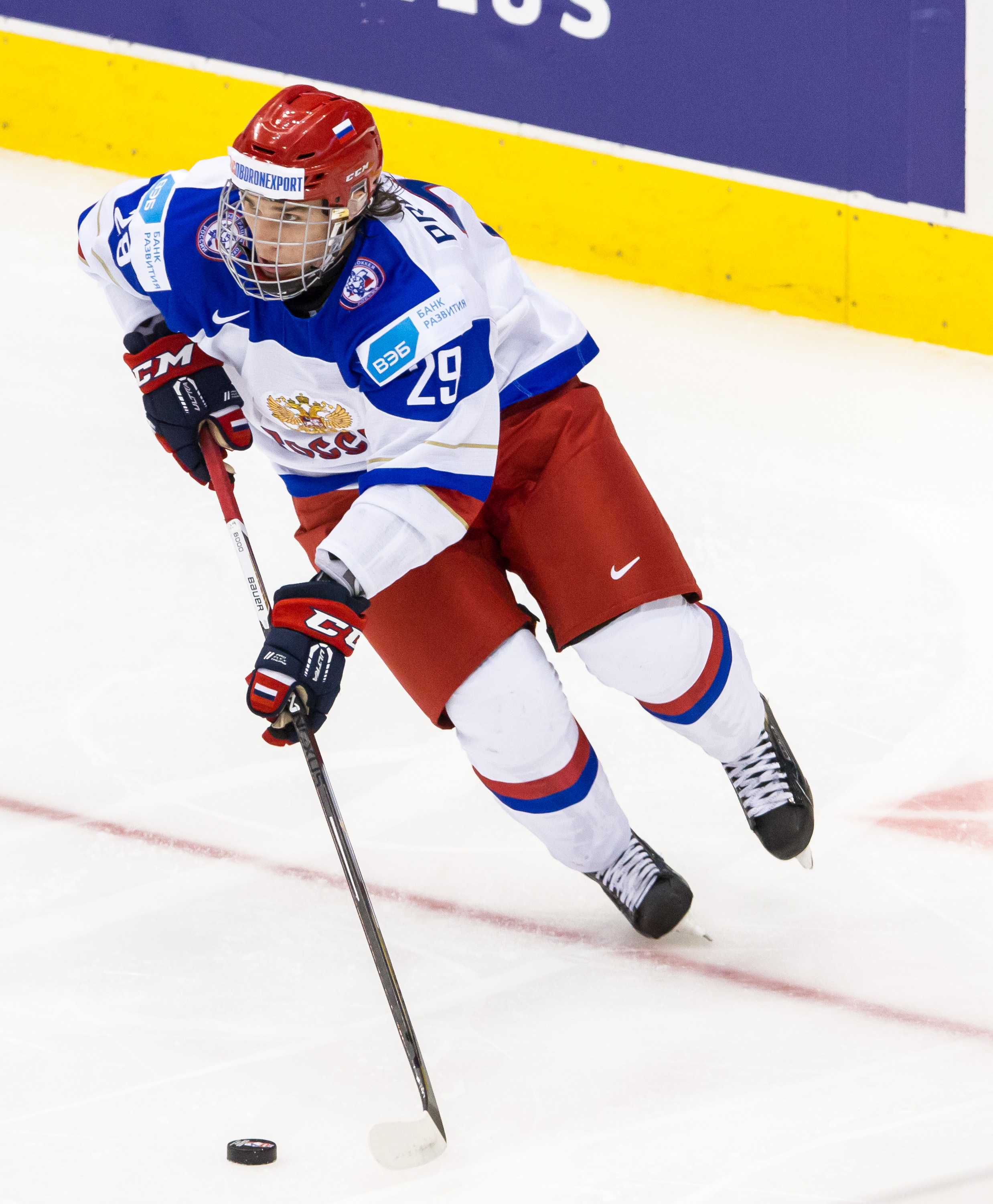 Smooth skating Russian defenseman Ivan Provorov is the next selection in our mock draft.