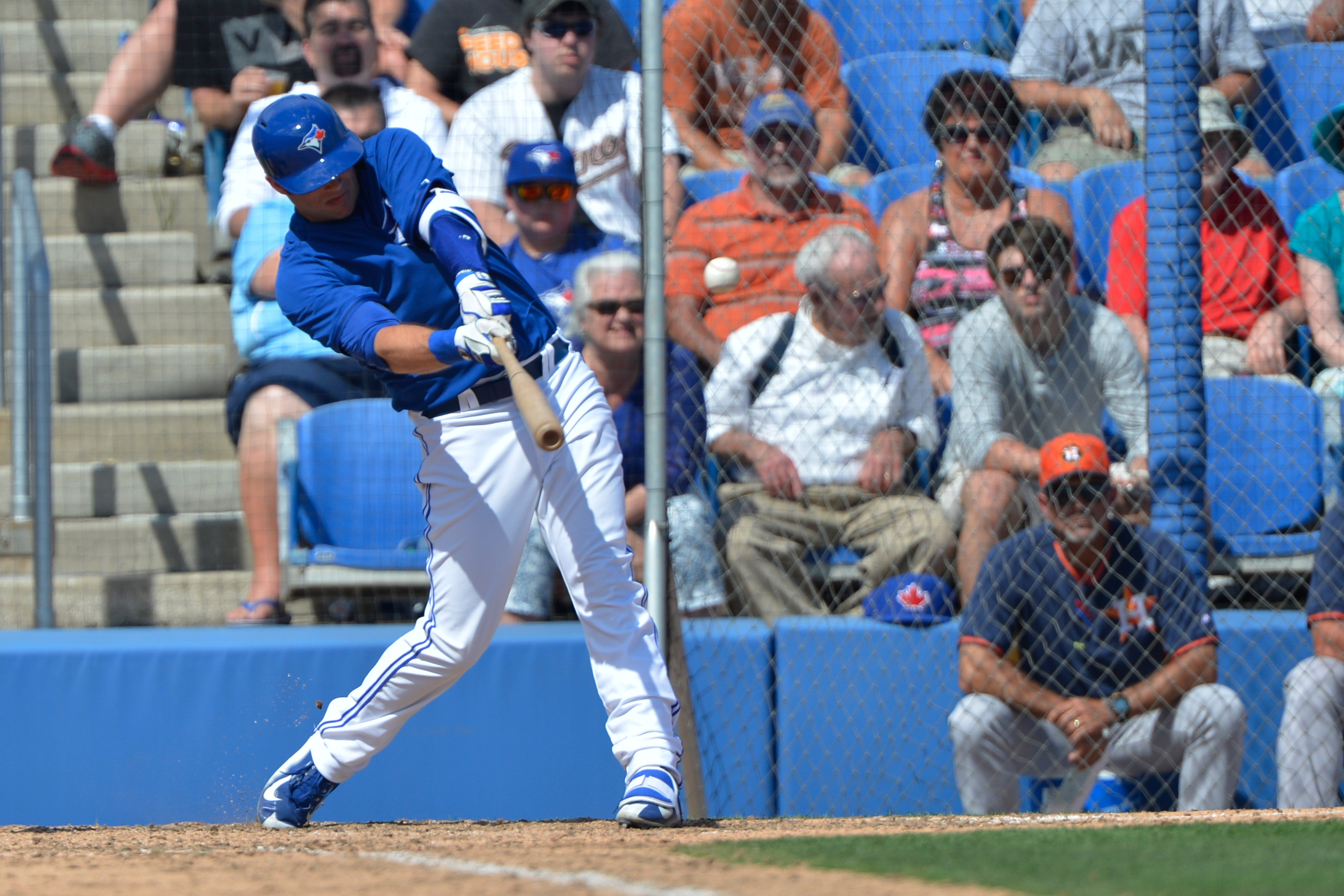 Matt Hague continues to lead the Baby Jays in OPS through week 8