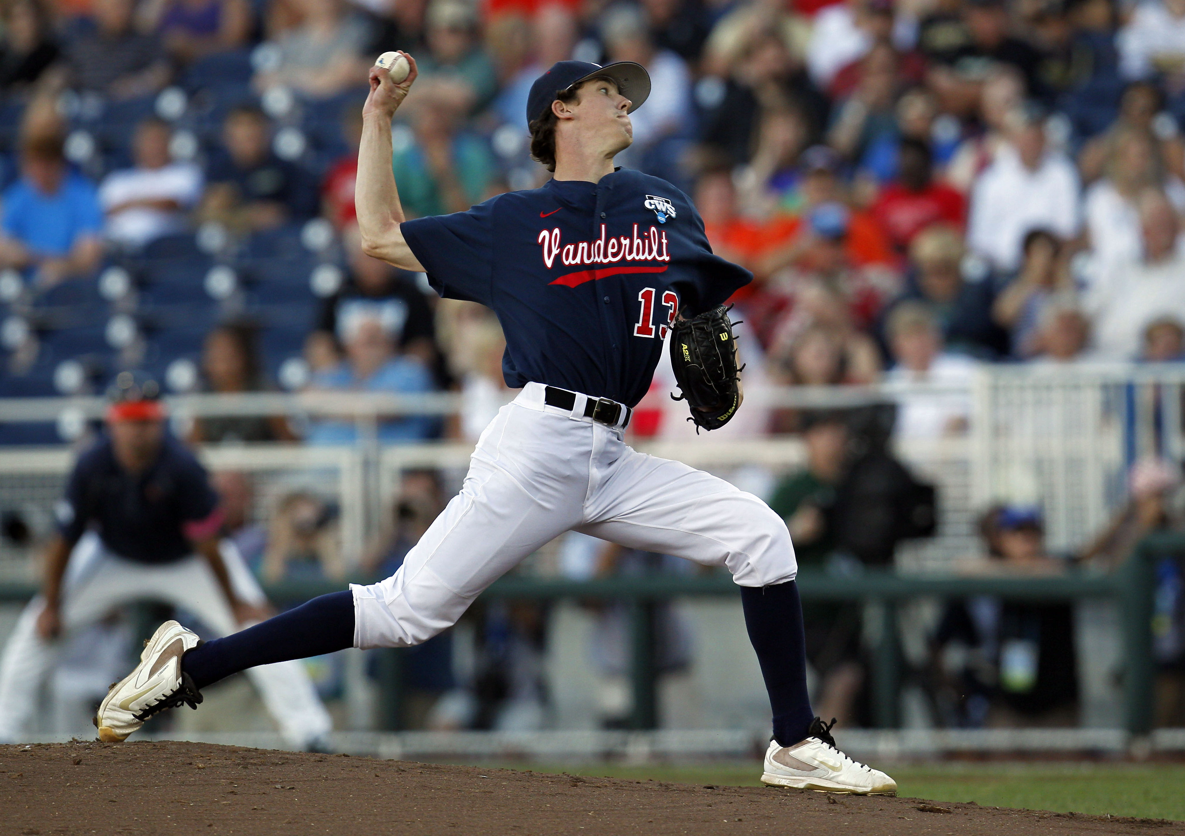 Vanderbilt righty Walker Buehler is reportedly one of the Rays' targets tonight