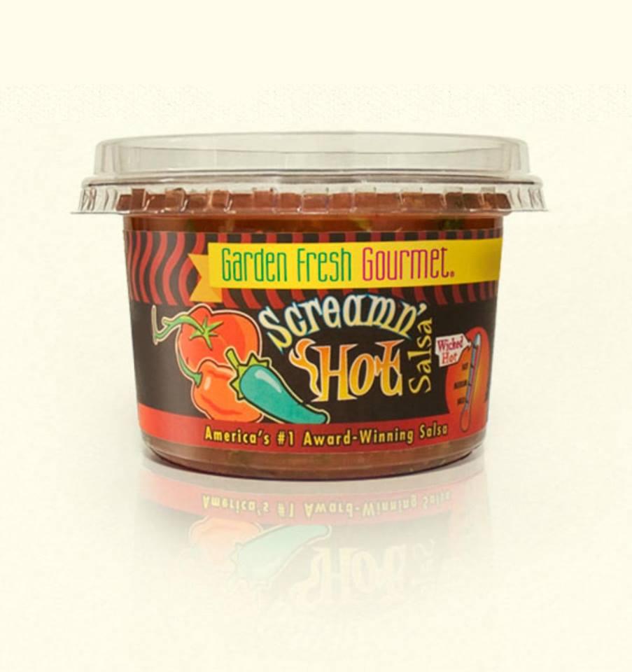 Garden Fresh Gourmet salsa.