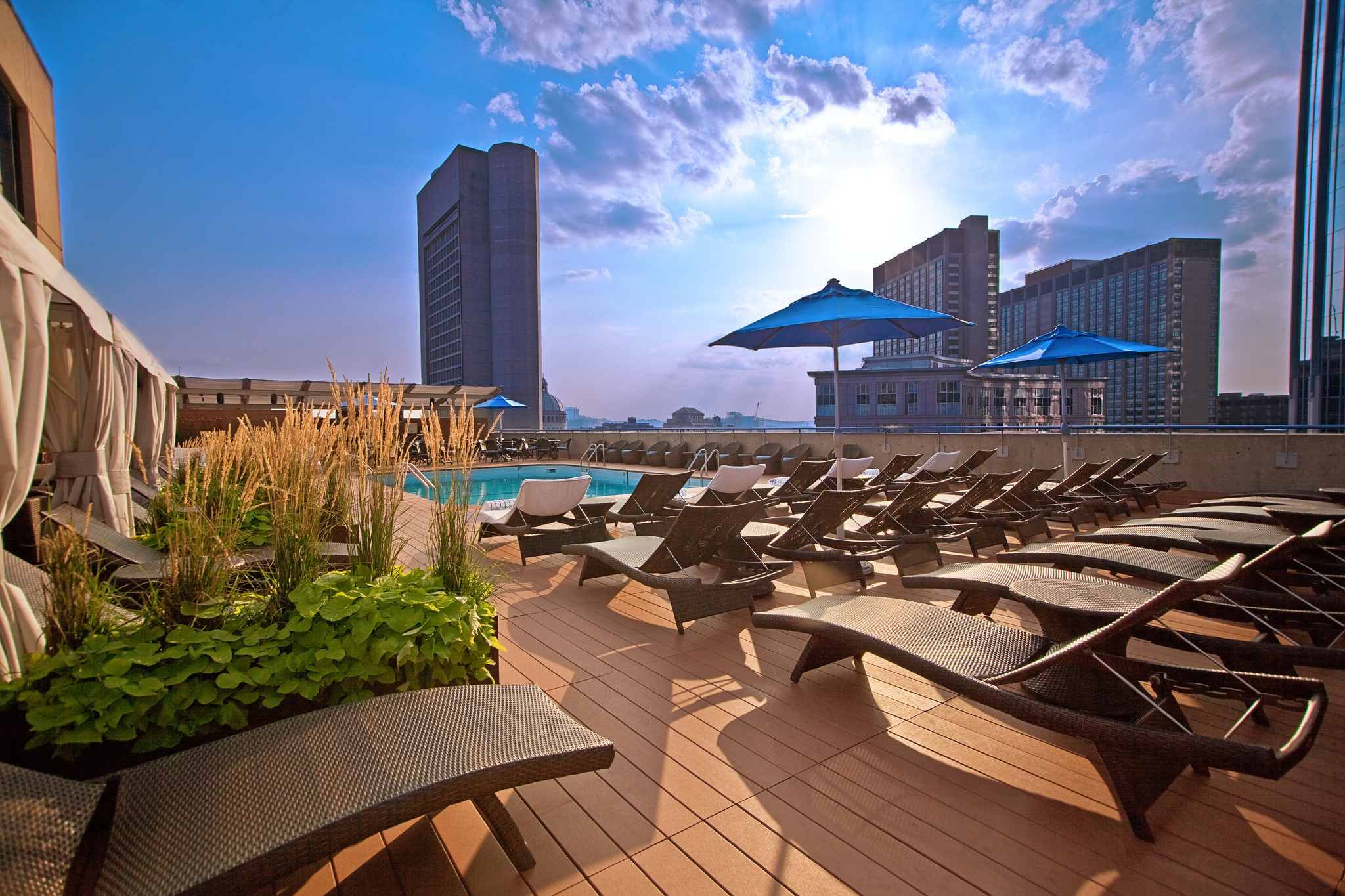 The Colonnade Hotel's Roof Top Pool