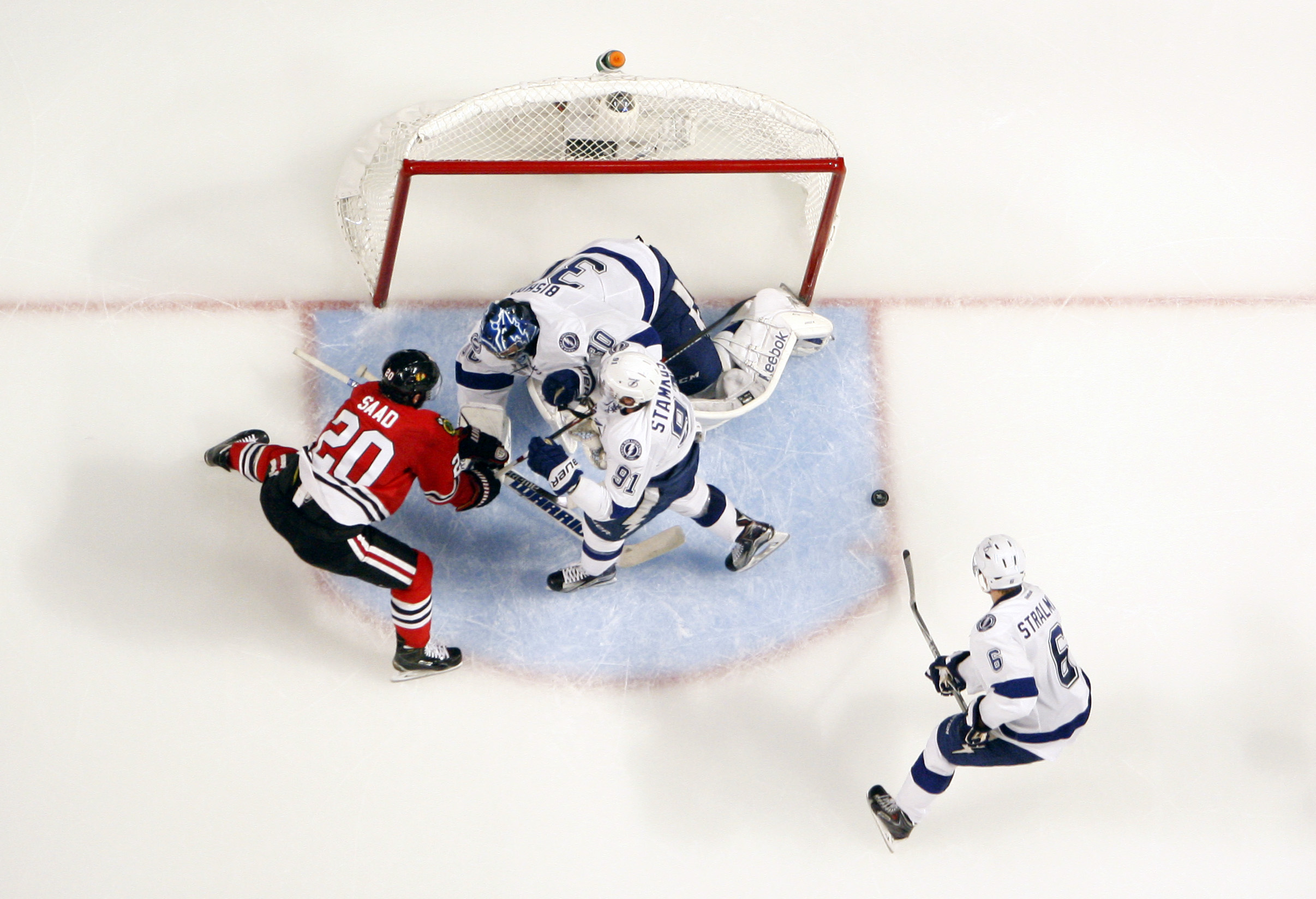 Ben Bishop did just enough to hold Chicago at bay.