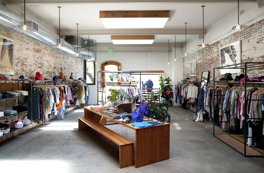 The Grand Street store