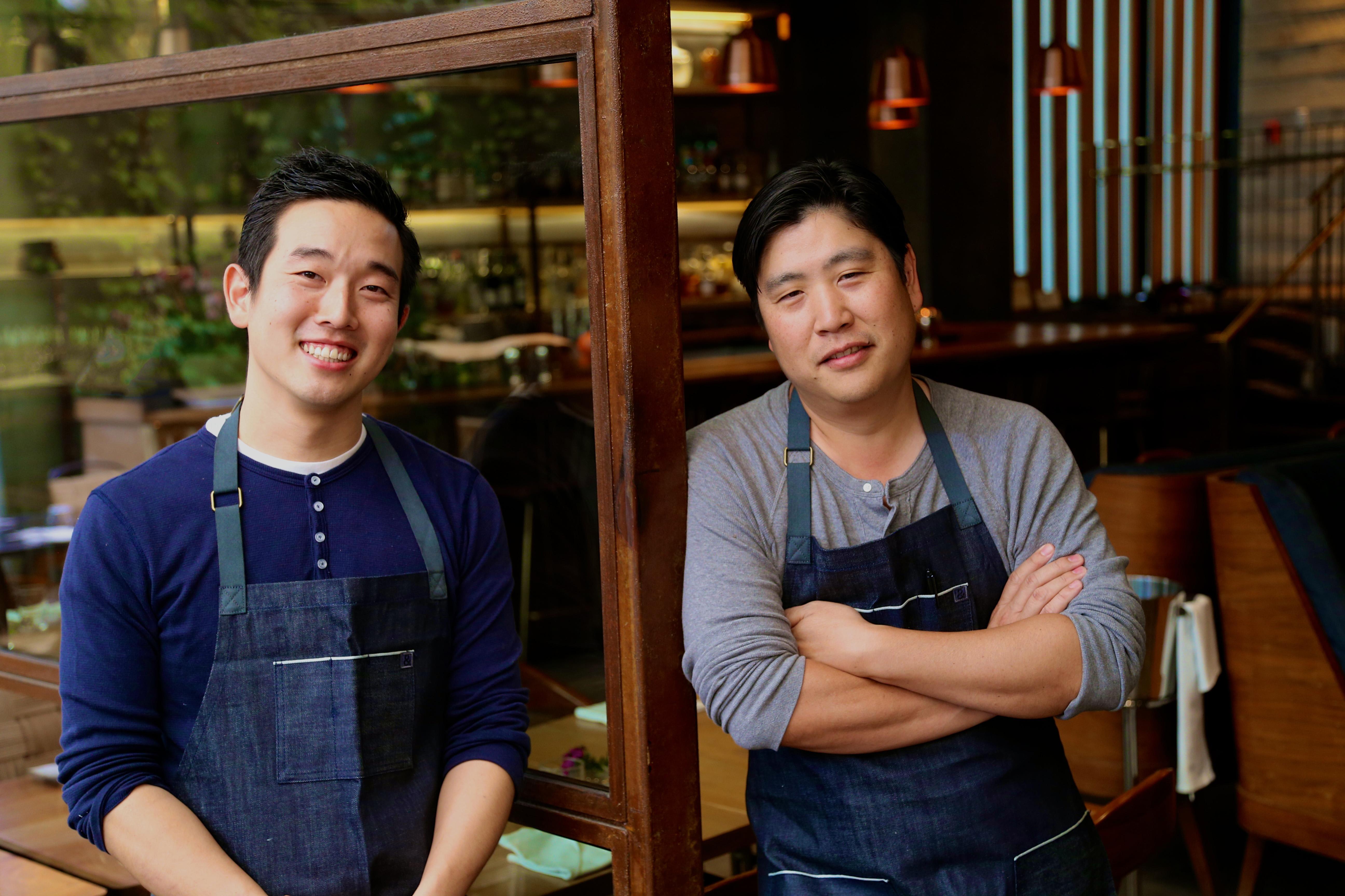 Left: Kei-Ichi Kurobe. Right: Brandon Kida