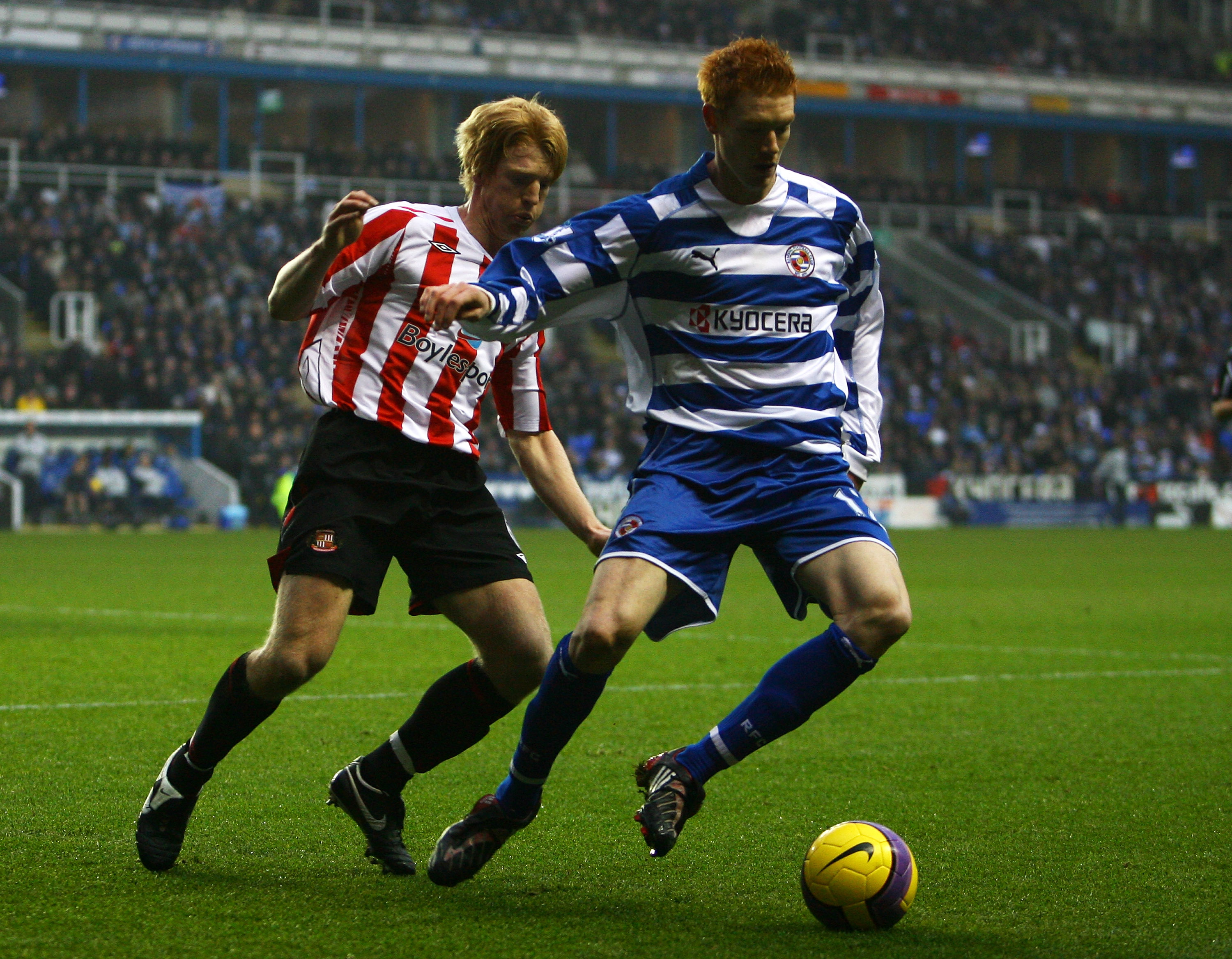 At least he's got experience of playing at the Madejski...