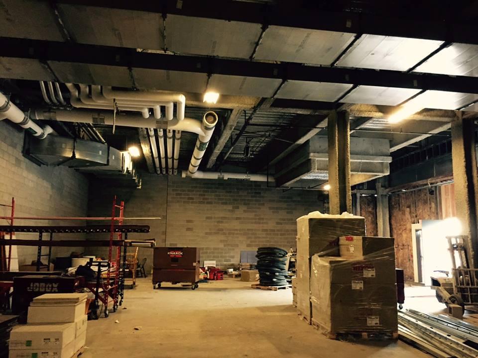 Craft Beer Cellar Fenway under construction in May