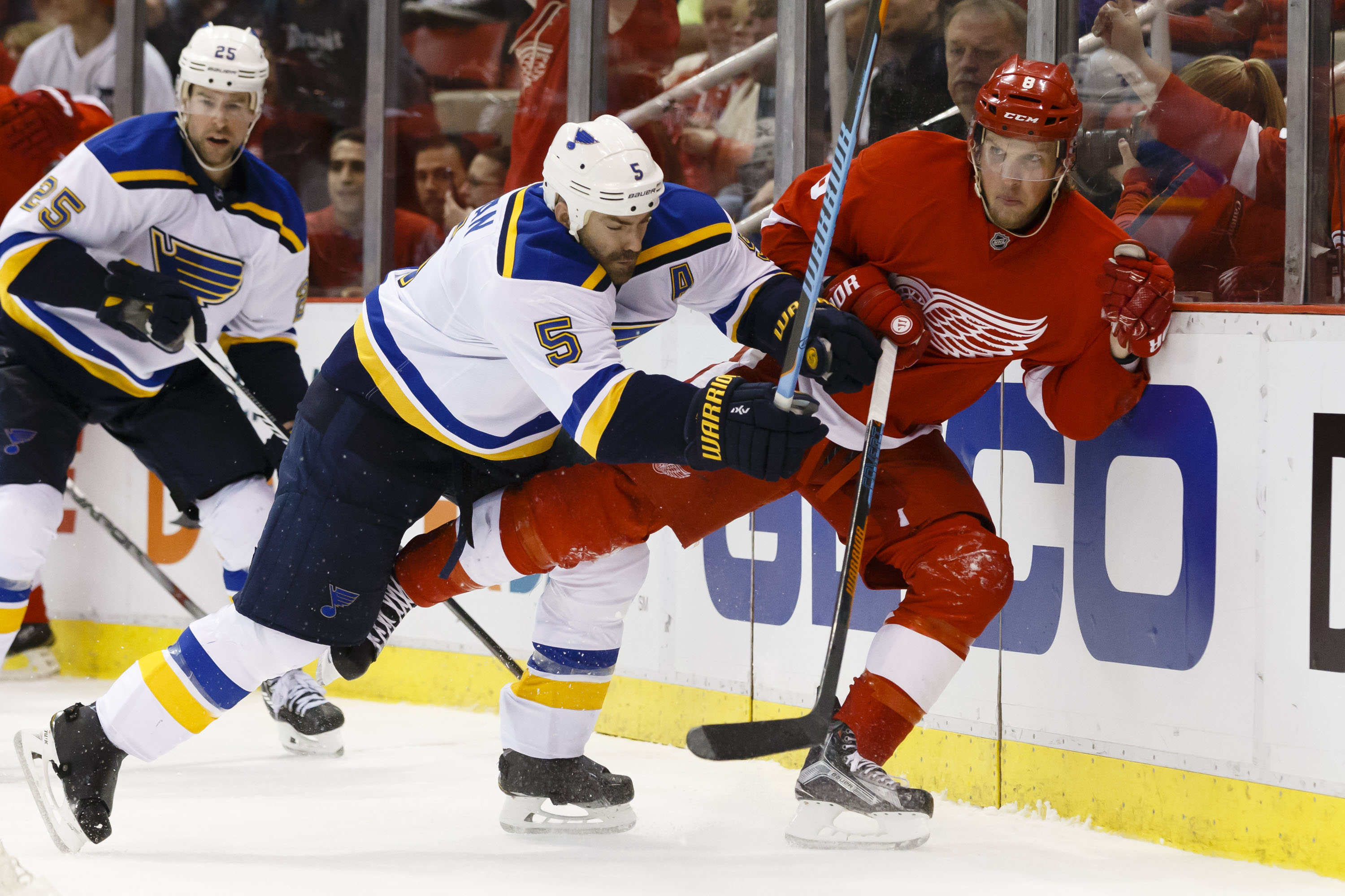 Barret Jackman annoying Red Wings is one of the things I will miss the most.