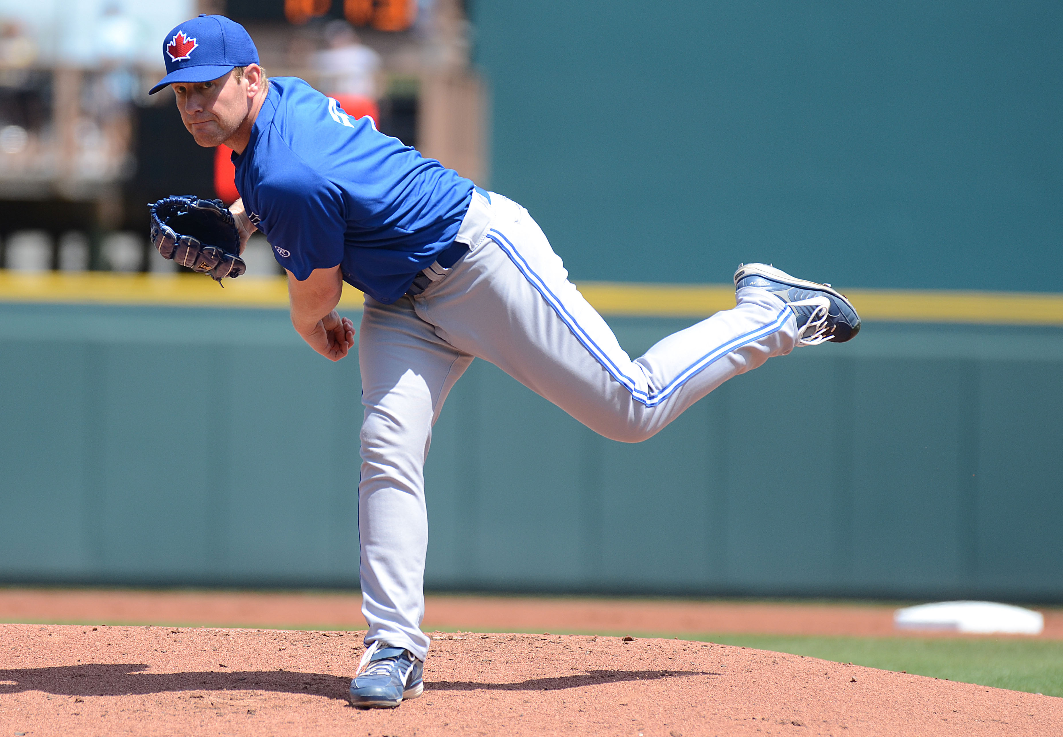 Randy Wolf throws a complete game for Buffalo as they sweep a doubleheader Thursday