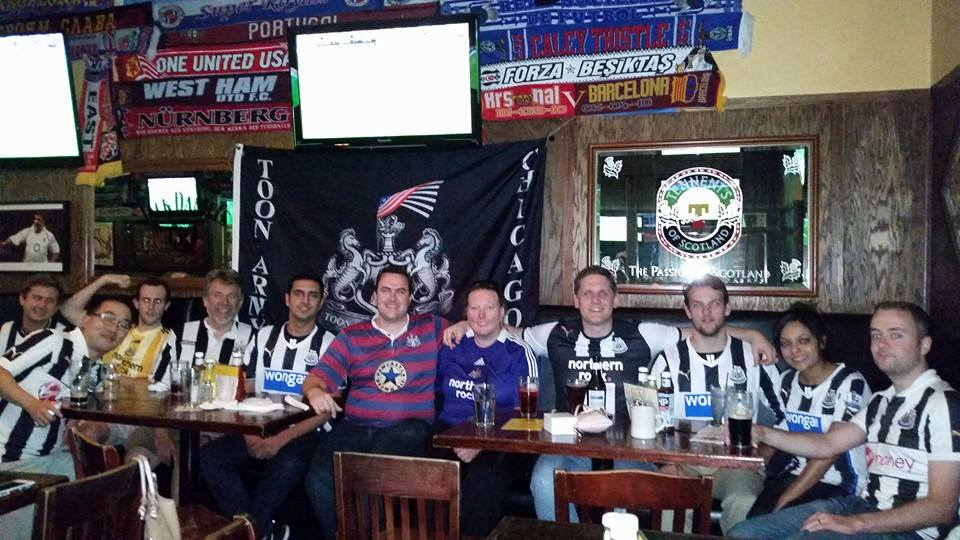 Toon Army Chicago's first meet-up at the Globe Pub, Chicago
