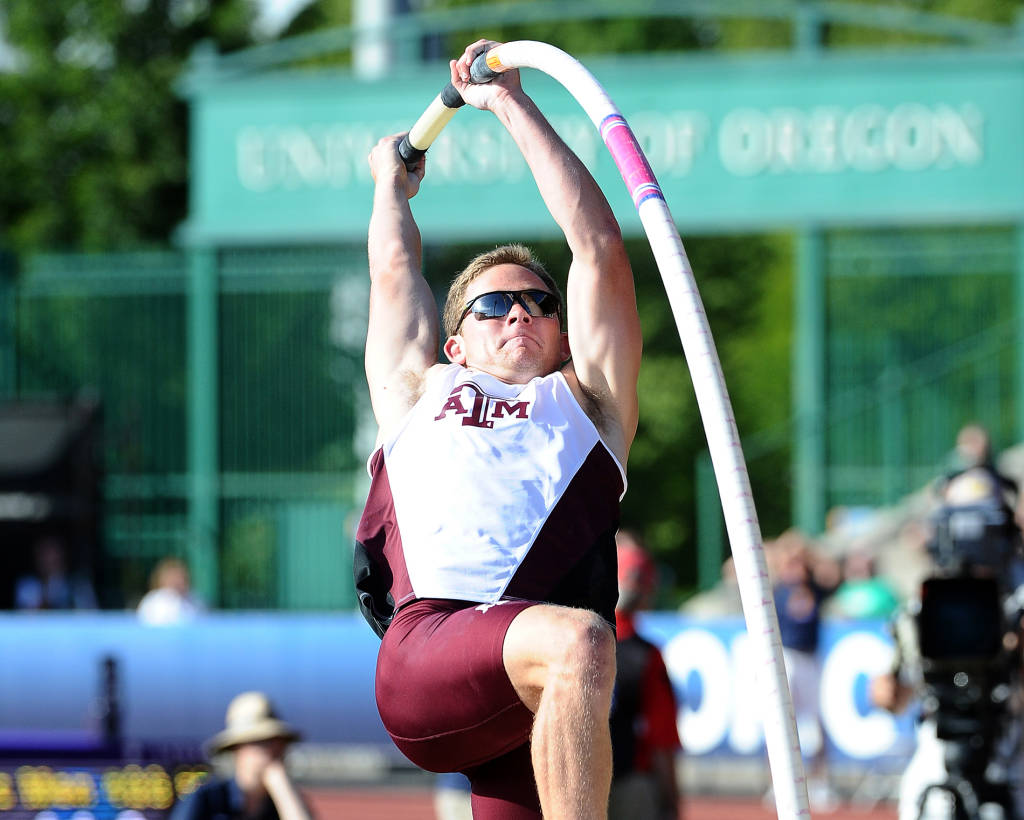 Chase Wolfle at last year's NCAA Championship
