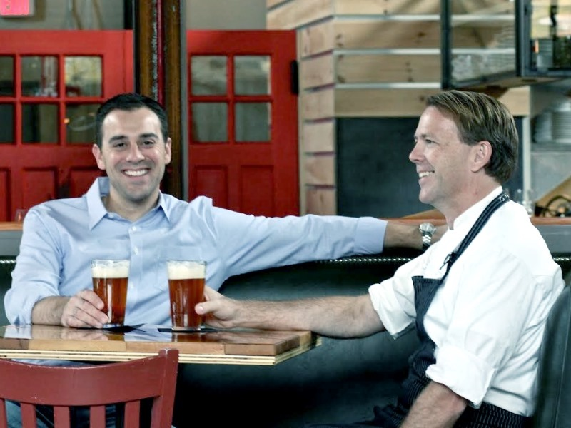 Dan Kerrigan (left) and Chris Parsons