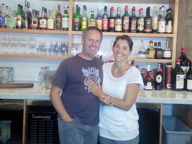 Nick Zappia and Liz Vilardi