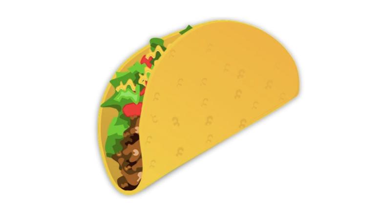 The Taco Emoji Is Here!
