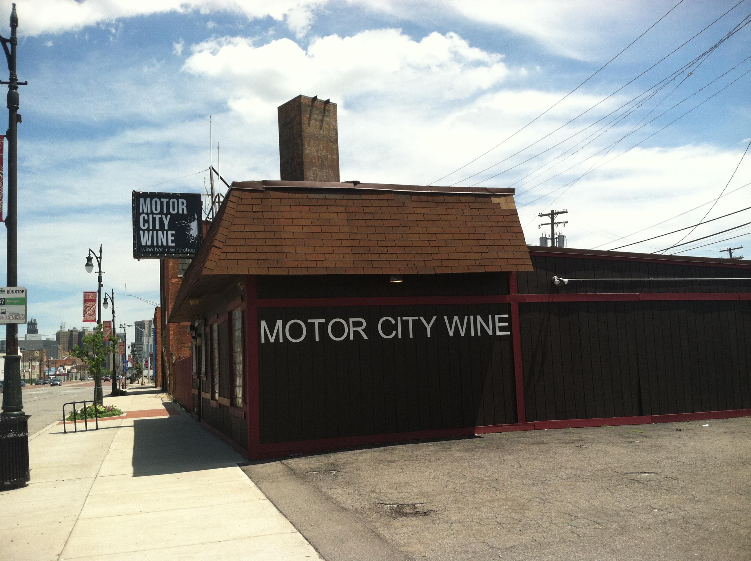 MotorCity Wine.