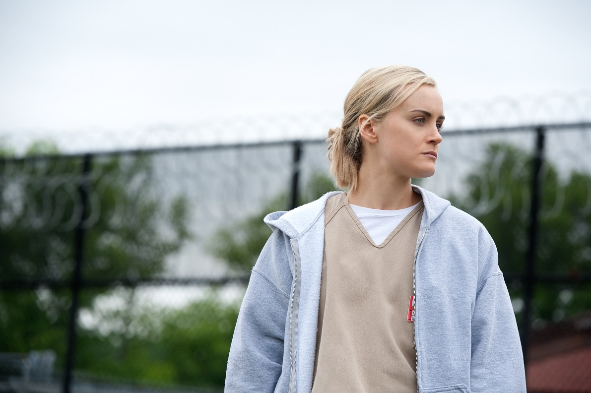 You wouldn't like Piper (Taylor Schilling) when she's angry.