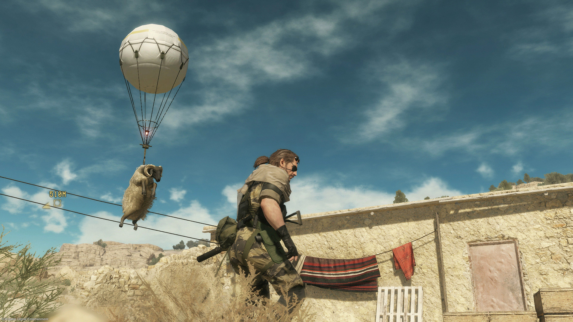 Watch 40 solid minutes of Metal Gear Solid 5