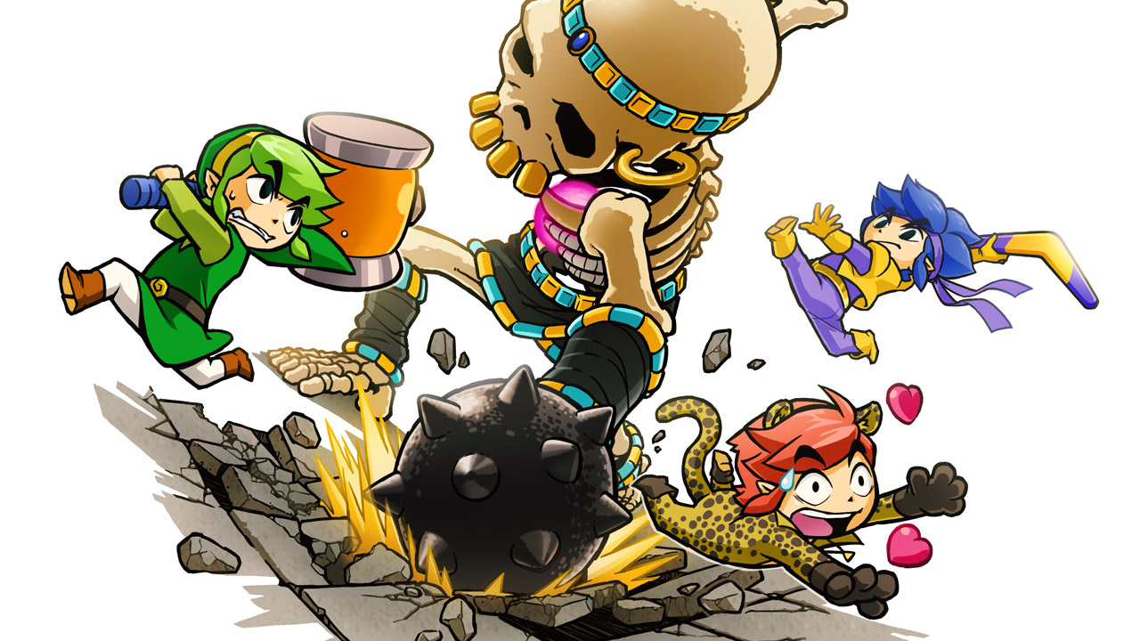The Legend of Zelda: Tri Force Heroes is a game of dress up, co-op and paper dolls