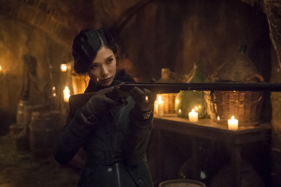 Chiyoh (Tao Okamoto) is just the latest potential ally for Will. She seems nice.