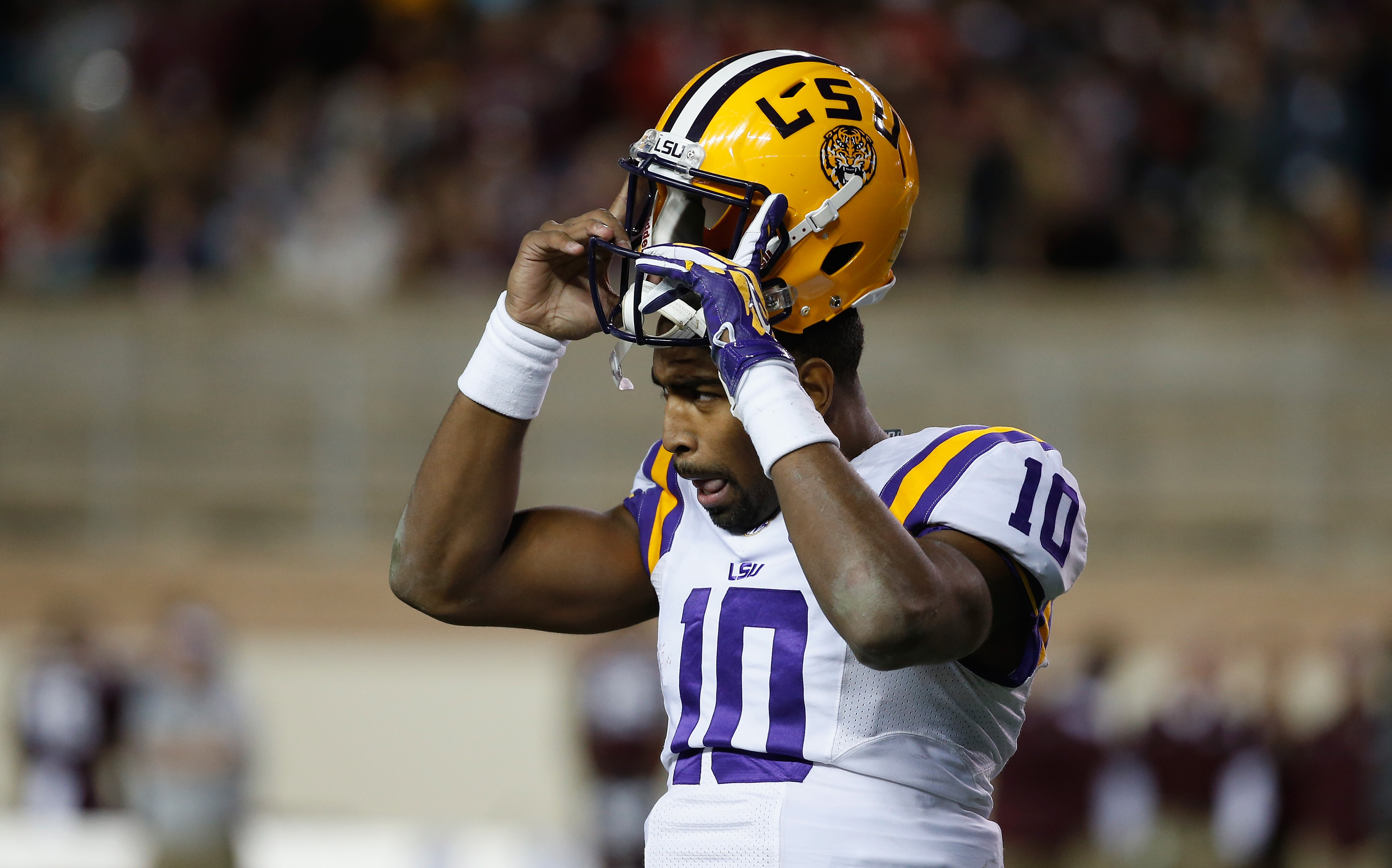 4 LSU arrests in one day could clear up the QB situation, for what that's worth