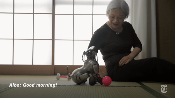 What do you do when your pet is dying, and it's a robot?
