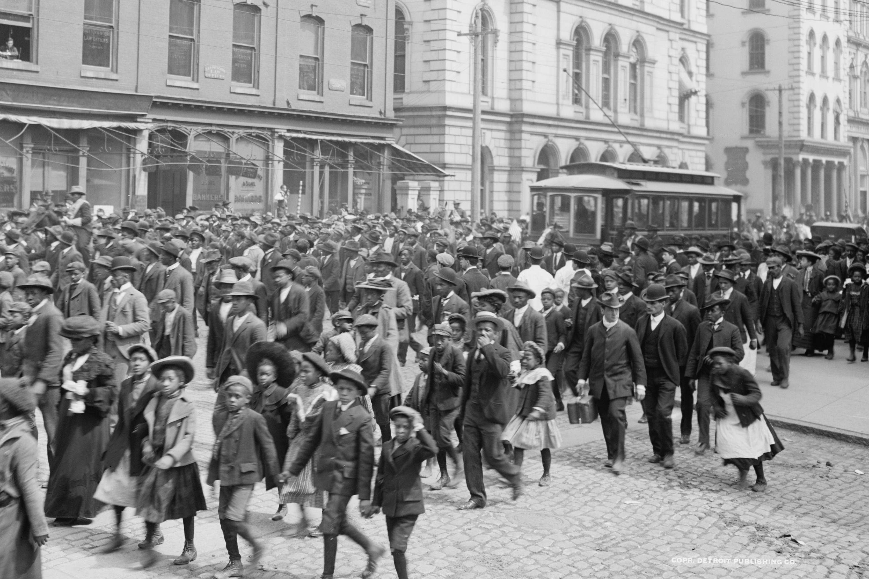 An Emancipation Day celebration in Richmond.